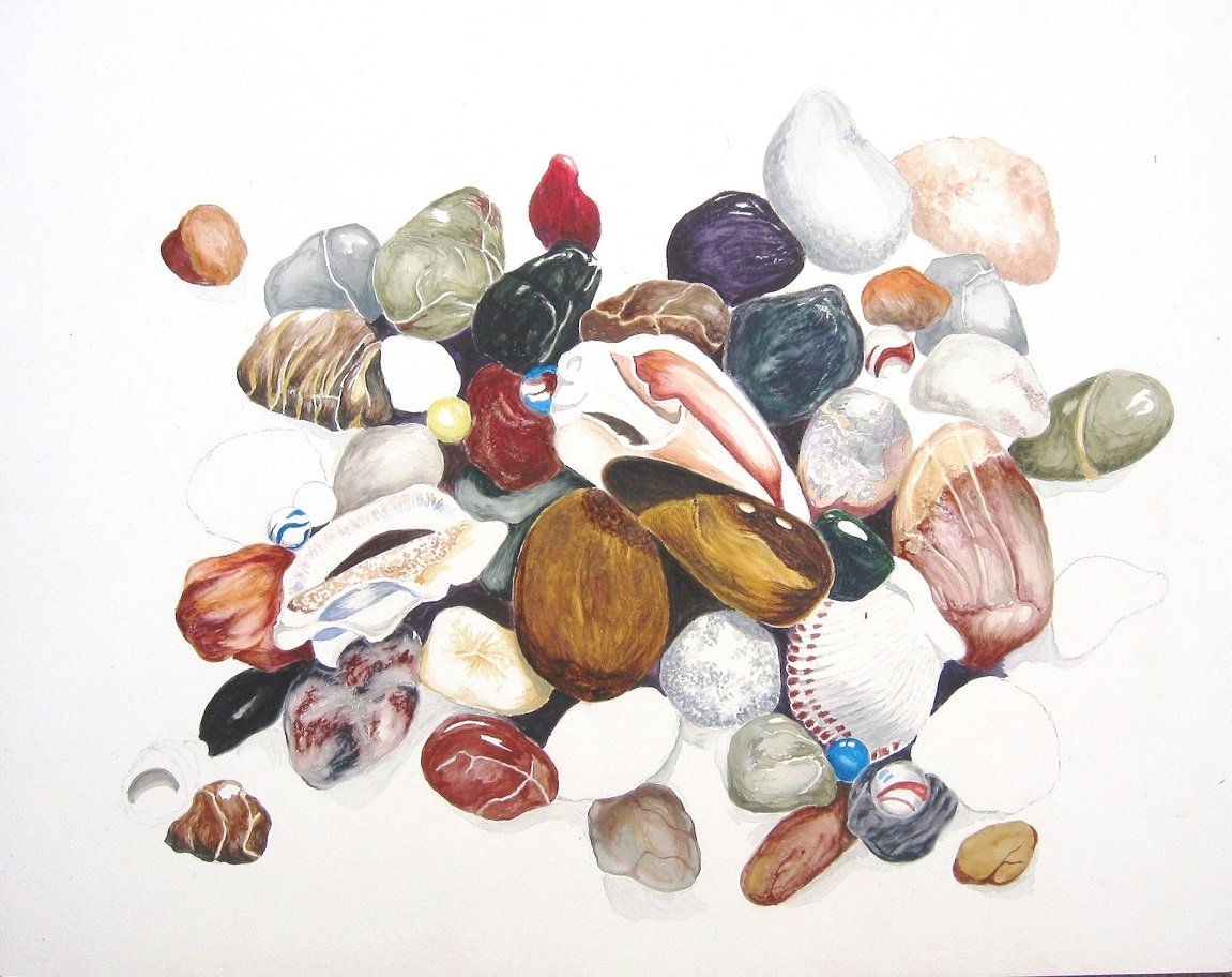 Stones Shells and Marbles