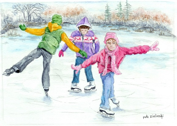 Skating Friends